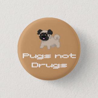 Badges Bouton de carlin de pixel