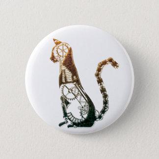 Badges Bouton de chat de Steampunk