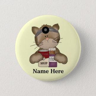 Badges Bouton de chat d'infirmière