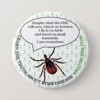 Badges Bouton de conscience de la maladie de Lyme, bouton