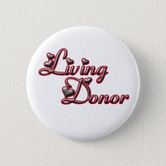 Badges Bouton de distributeur vivant 1