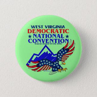 Badges Bouton de DNC la VIRGINIE OCCIDENTALE