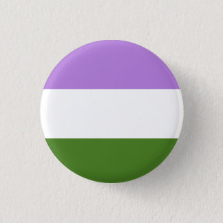 Badges Bouton de drapeau de fierté de Genderqueer