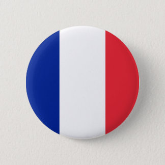 Badges Bouton de drapeau de la France