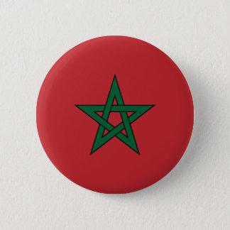 Badges Bouton de drapeau du Maroc