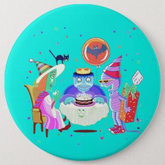 Badges Bouton de Frankie de joyeux anniversaire (couleur)