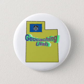 Badges Bouton de Geocaching Utah