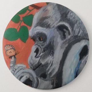 Badges Bouton de gorille et de papillon