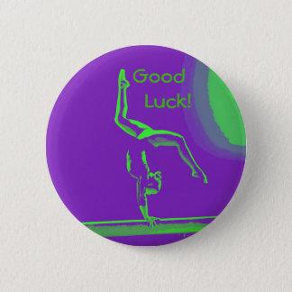 Badges Bouton de gymnaste de bonne chance