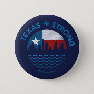 Badges Bouton de Harvey d'ouragan fort du Texas