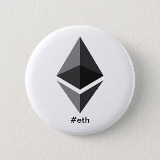 Badges Bouton de Hashtag de logo d'Ethereum