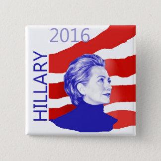 Badges Bouton de Hillary 2016