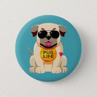 Badges Bouton de la vie de carlin