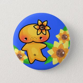 Badges Bouton de lutin de tournesol