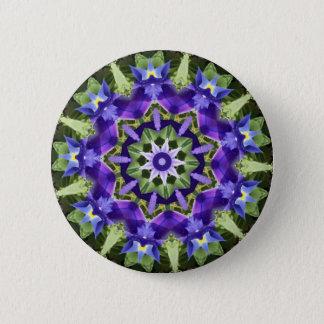 Badges Bouton de mandala d'iris