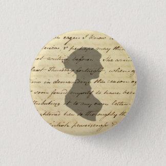 Badges Bouton de manuscrit de Jane Austen
