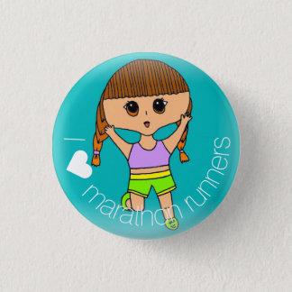 Badges Bouton de marathoniens du ♥ I