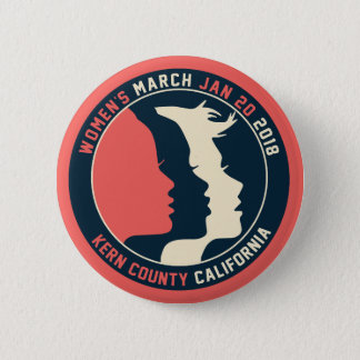 Badges Bouton de mars Kern des femmes
