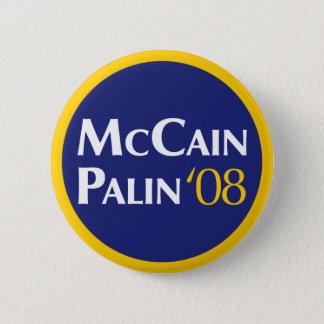 Badges Bouton de McCain-Palin