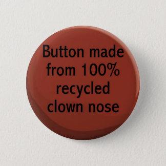 Badges bouton de nez de clown réutilisé par 100%