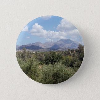 Badges Bouton de paysage de montagne