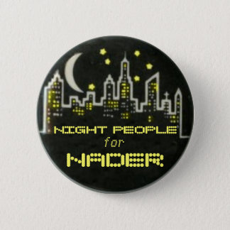 Badges Bouton de personnes de nuit de Nader