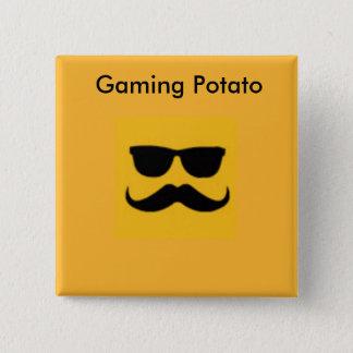 Badges Bouton de pomme de terre de jeu