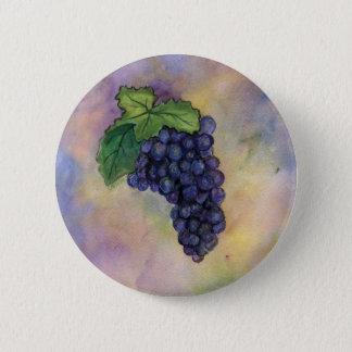 Badges Bouton de raisins de cuve de pinot noir