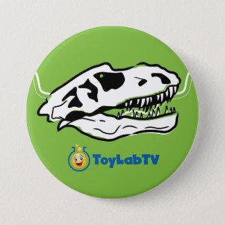 Badges Bouton de ranch de T-Rex avec le dinosaure