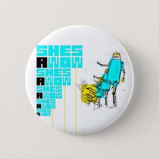 Badges Bouton de robot