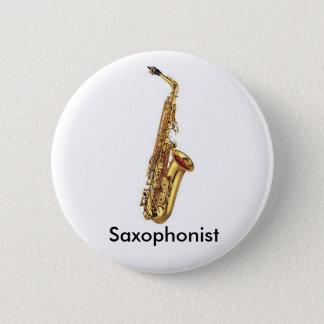 Badges Bouton de saxophone