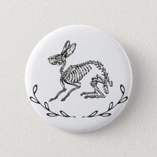 Badges Bouton de squelette de lapin