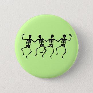 Badges Bouton de squelettes de danse