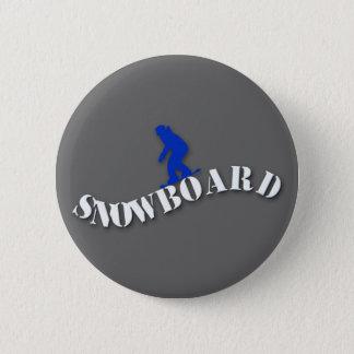 Badges Bouton de surf des neiges