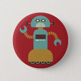 Badges Bouton de talent de robot de rouleau