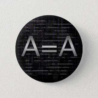 Badges Bouton de technologie d'Objectivist de logique