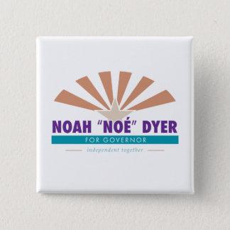 """Badges Bouton de tinctorial de Noé """"Noé"""" [slogan"""