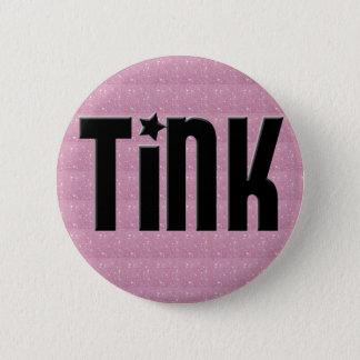 Badges Bouton de Tink - coeurs roses