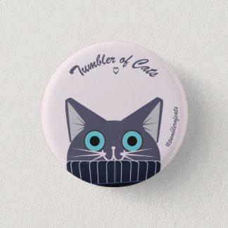 Badges Bouton de TumblerofCats - TumblerCat bleu