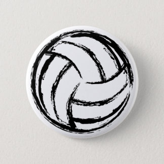 Badges Bouton de volleyball