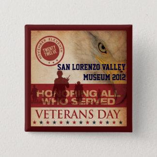 Badges Bouton des vétérans 2012