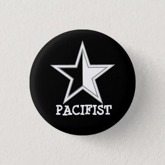 Badges bouton d'étoile d'Anarcho-pacifiste