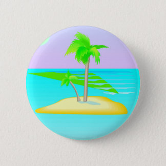 Badges Bouton d'île de palmier