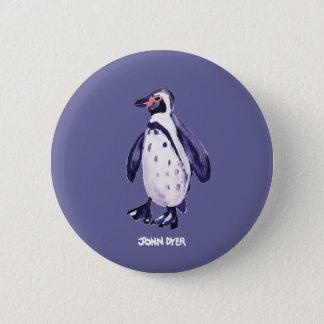 Badges Bouton d'insigne d'art : Pingouin de pourpre de