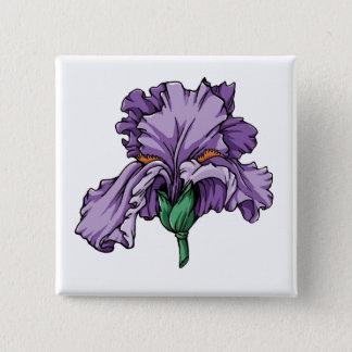 Badges Bouton d'iris