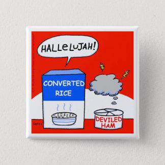 Badges Bouton drôle de bande dessinée chrétienne d'humour