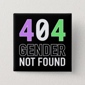 Badges Bouton du genre 404