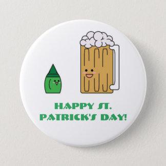 Badges Bouton du jour de St Patrick mignon