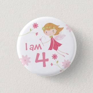 Badges Bouton féerique d'insigne d'âge d'anniversaire de