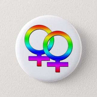 Badges Bouton femelle de deux signes